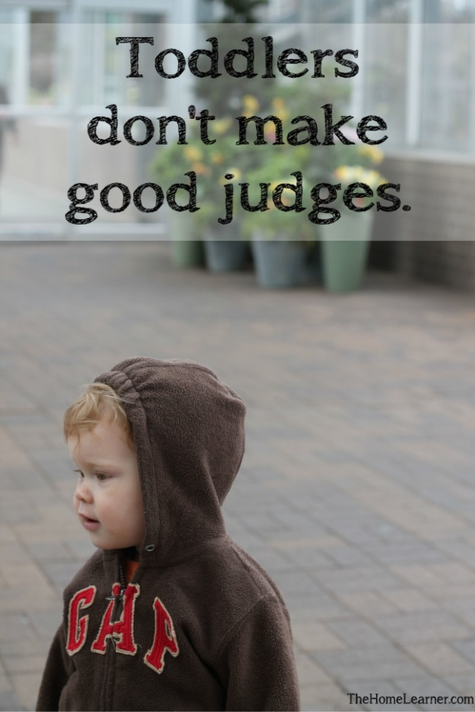 Ending the Struggle Between Good Mom and Bad Mom Toddlers don't make good judges