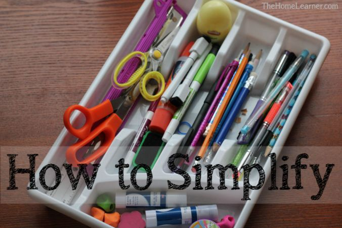 How to Simplify