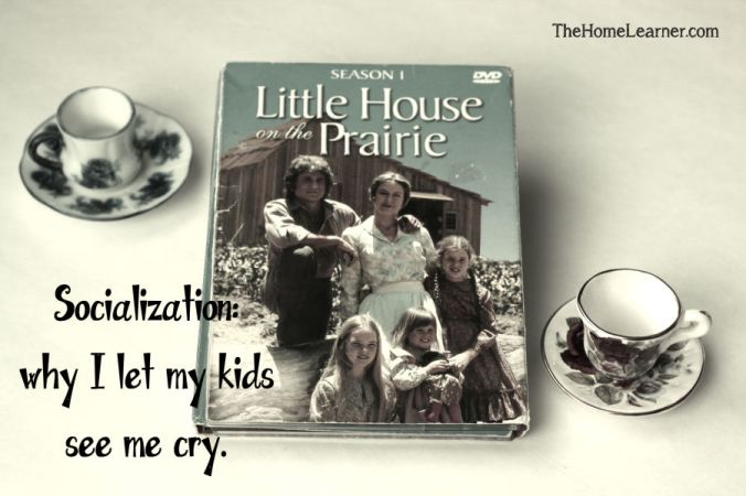 Socialization why I let my kids see me cry Home Learner