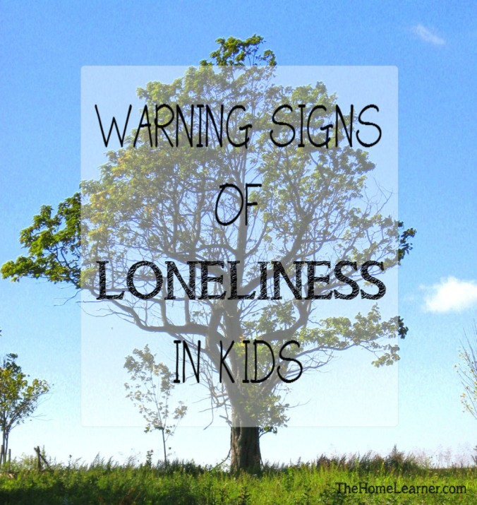 Warning Signs of Loneliness in Kids