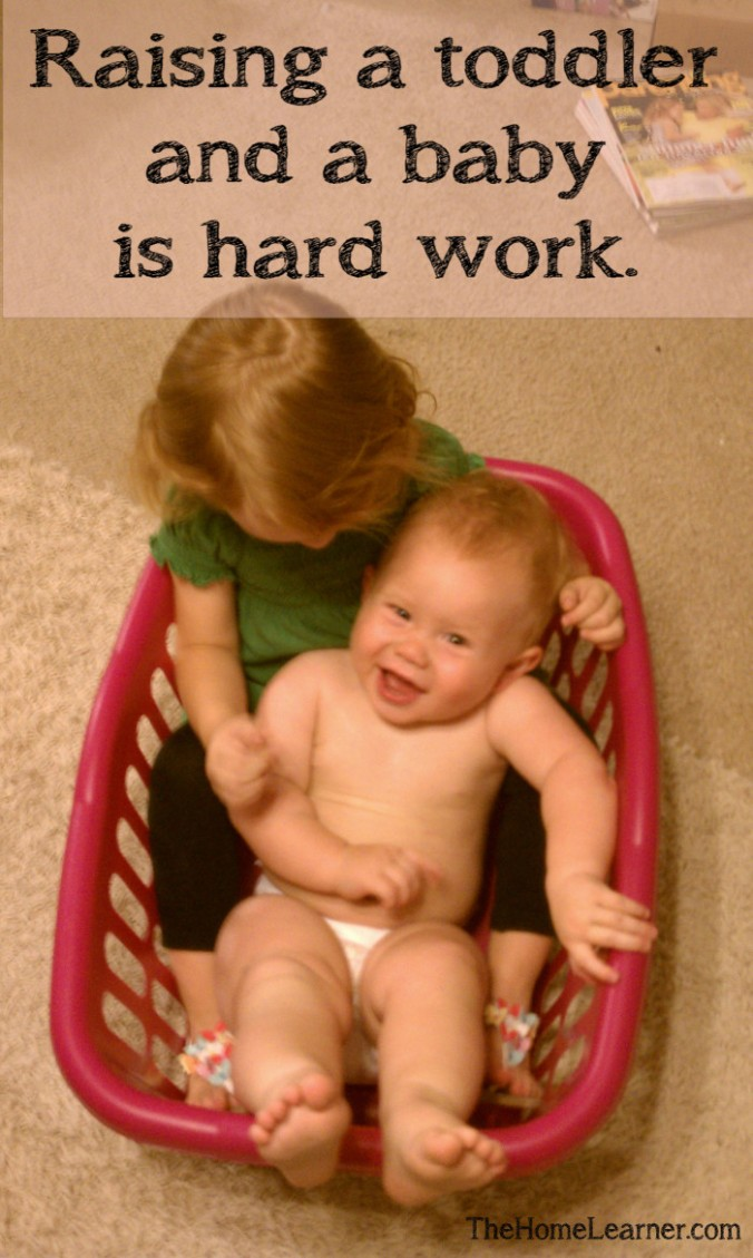 On Developing Better Follow Through toddler and baby