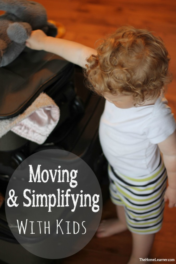 Moving and Simplifying with kids 2