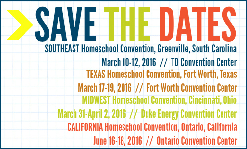 2016-HOMESCHOOL-CONVENTION-DATES