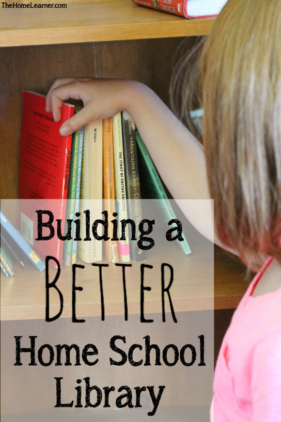 B2S Day 21 Building a better home school library 1