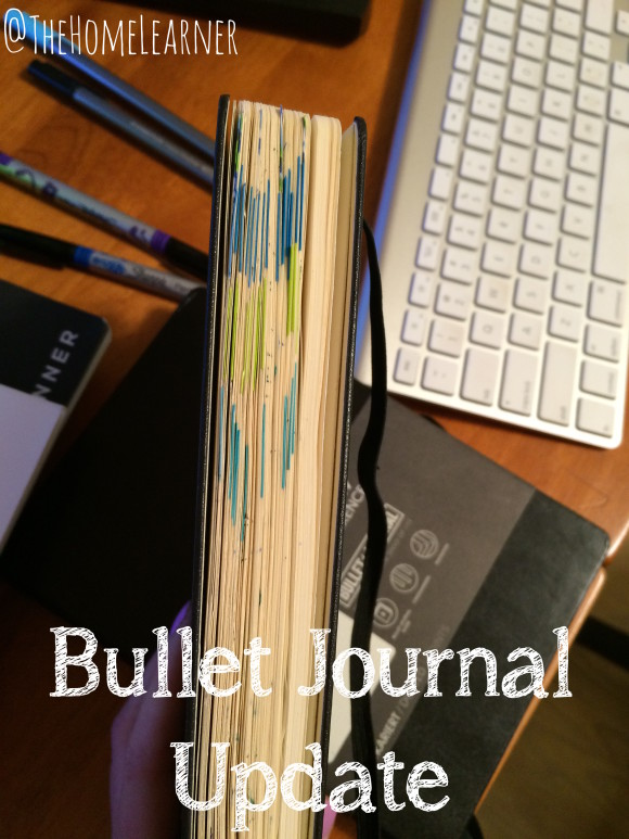 Bullet Journal Update 1