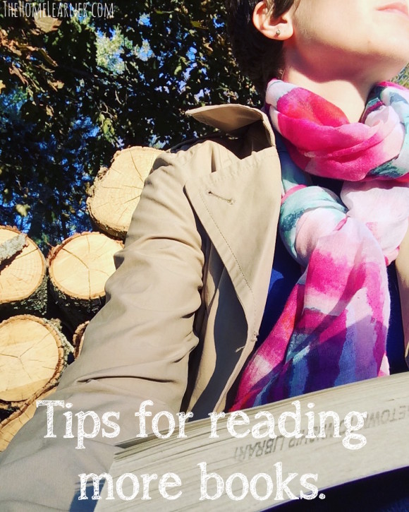 Tips for reading more books 1