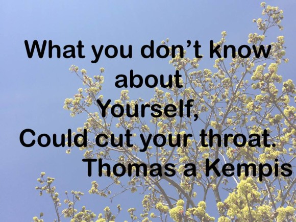 Thomas a Kempis quote for comparison